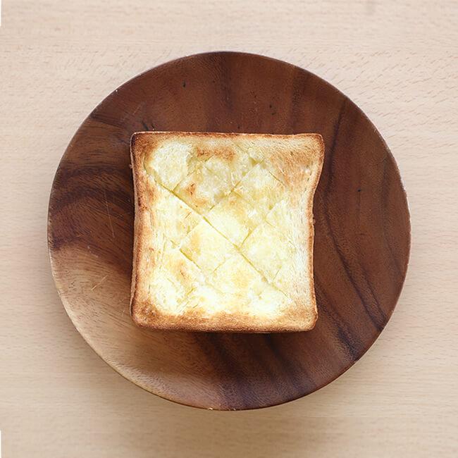 バタートースト写真
